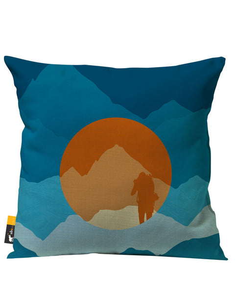 Cascades Outdoor Throw Pillow