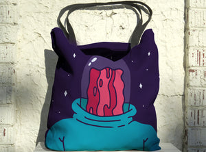Professor Bacon Tote
