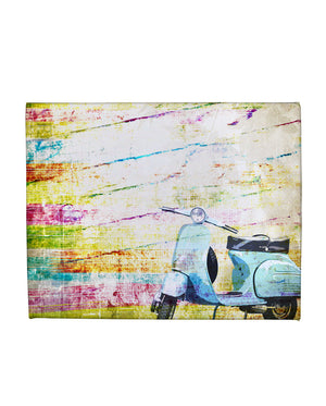 Vespa Gallery Art Canvas