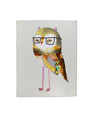 Feeling Owly Gallery Art Canvas