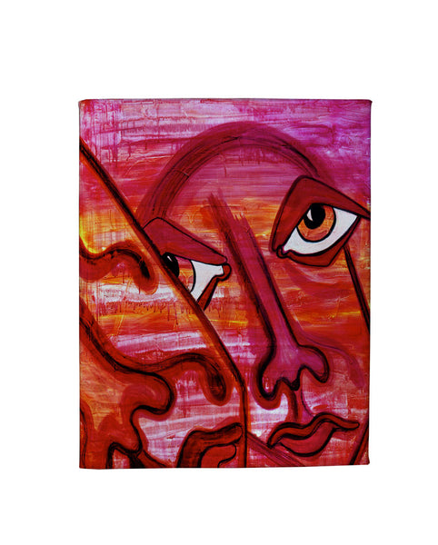 Loves In Pink Gallery Art Canvas
