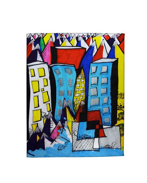 Cities Gallery Art Canvas