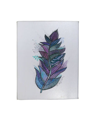 Violet Feather Gallery Art Canvas