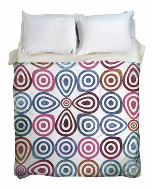 Retro Lounge Duvet Cover
