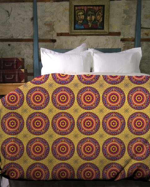 Boho Sandalwood Duvet Cover