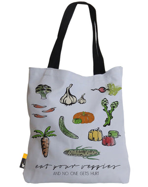 Eat Your Veggies And No One Gets Hurt Tote