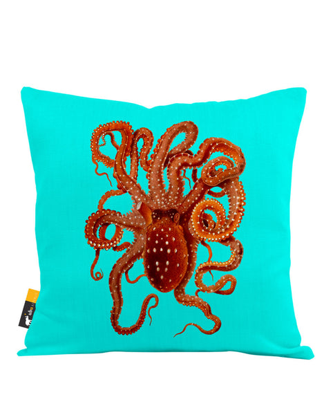 Killer Octopus Throw Pillow