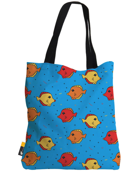 The Fish Tank Blue Tote