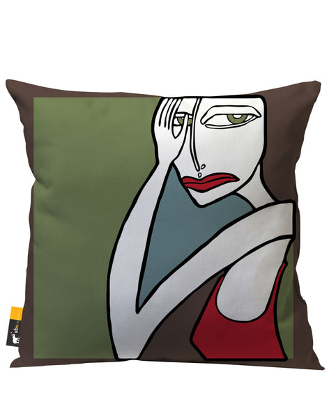 Hazel Mazel Outdoor Throw Pillow