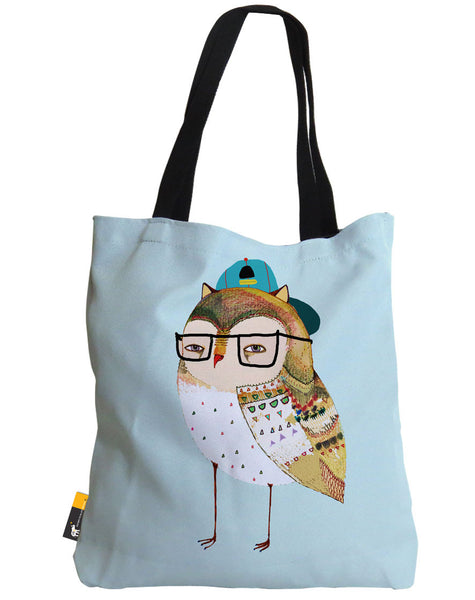 Hipster Owl Tote