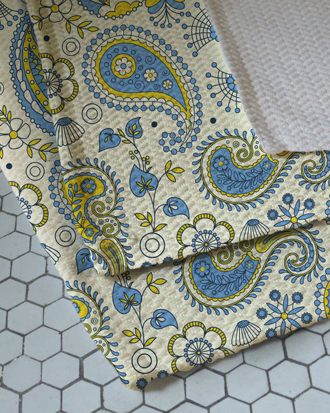 Indie Paisley Woven Bath Rug