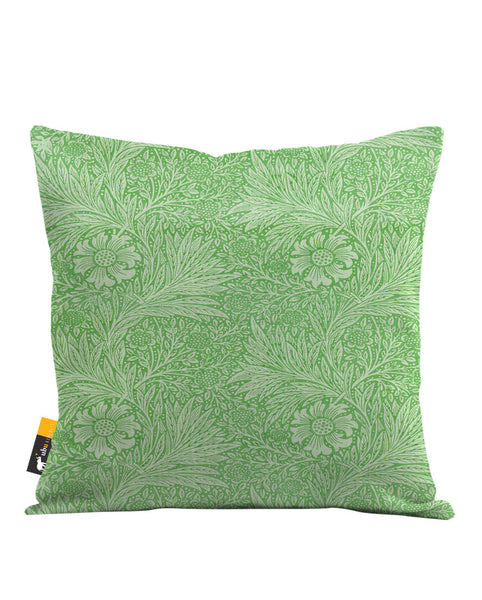 Jade Blossom Throw Pillow
