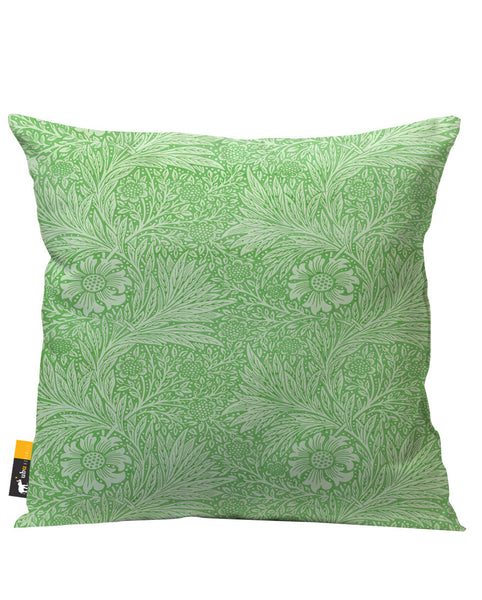 Jade Blossom Outdoor Throw Pillow