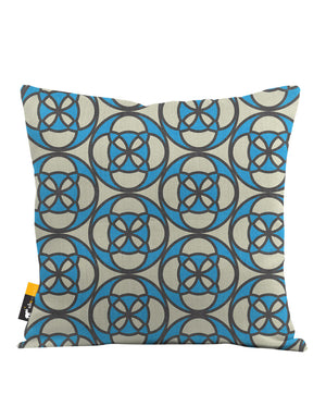 Retro Cafe Throw Pillow