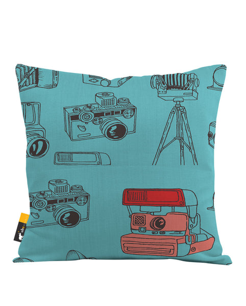 Poloroid Throw Pillow