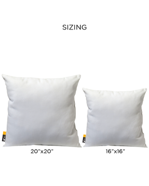 Patio Pillow Sizing