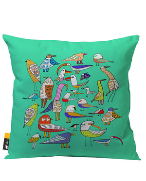 Day At The Pond Outdoor Throw Pillow