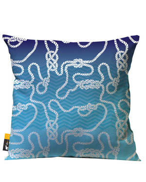 Dread Knot Outdoor Throw Pillow