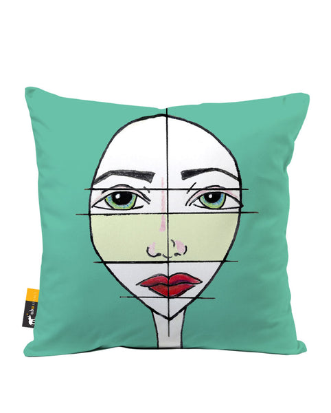 Pieces Of Me Luxe Suede Throw Pillow