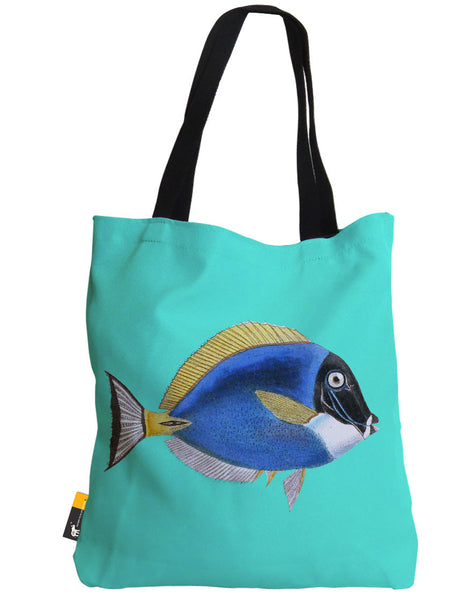 Powder Blue Tang Tote