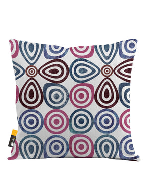 Retro Lounge Throw Pillow