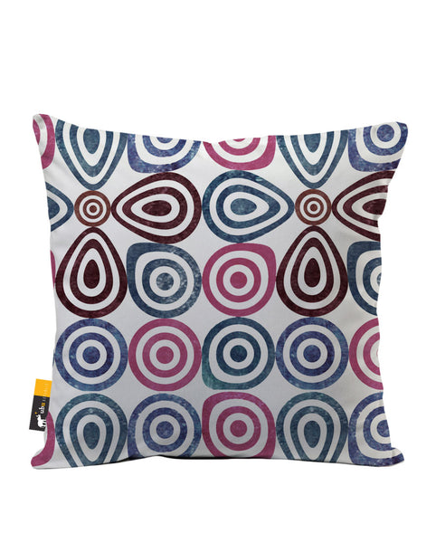 Retro Lounge Luxe Suede Throw Pillow