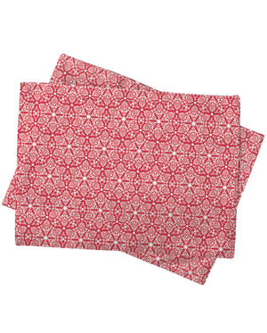 Ruby Damask Placemat
