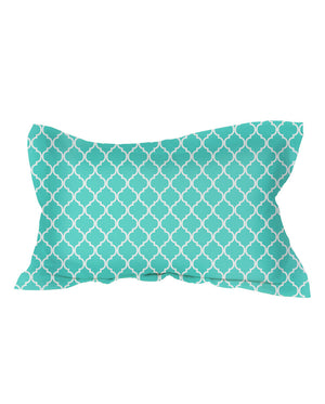 Teal Moroccan Shams