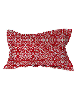 Ruby Damask Shams
