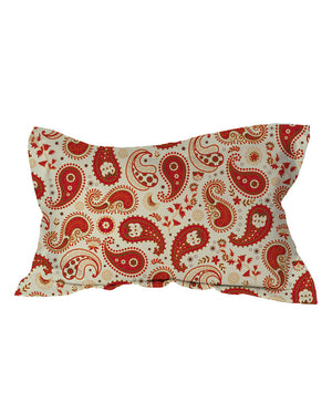 Chili Paisley Shams