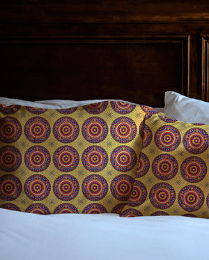 Boho Sandalwood Shams