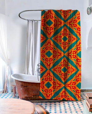 Shangri-La Shower Curtain