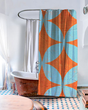 Star Pod Shower Curtain