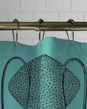 Captain Nemo Shower Curtain