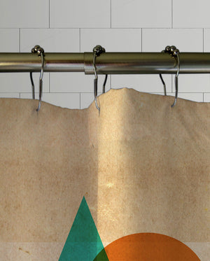 Try Angle Shower Curtain