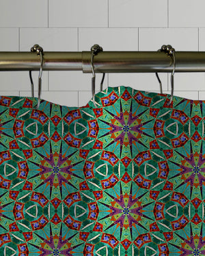 Boho Cypress Shower Curtain