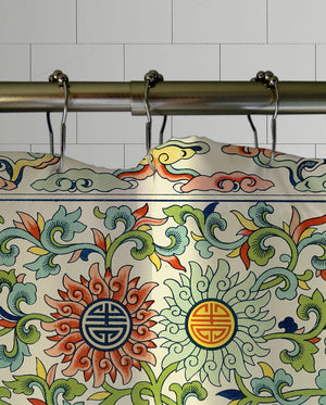 Ming Dynasty Shower Curtain
