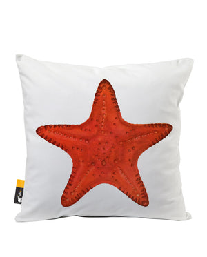 Starfish Faux Suede Throw Pillow