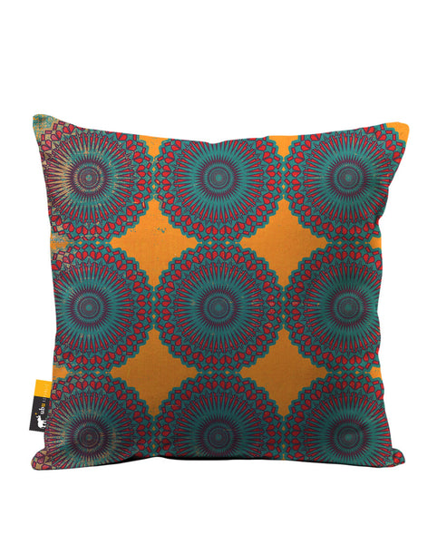 Taj Mahal Luxe Suede Throw Pillow