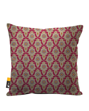 Istanbul Bazaar Faux Suede Throw Pillow