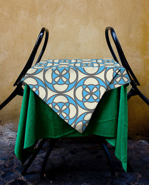 Retro Cafe Tablecloth