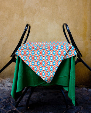 Blue Salamander Tablecloth