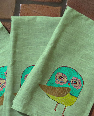 Little Owl Tea Towels