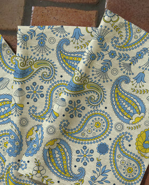 Indie Paisley Tea Towels