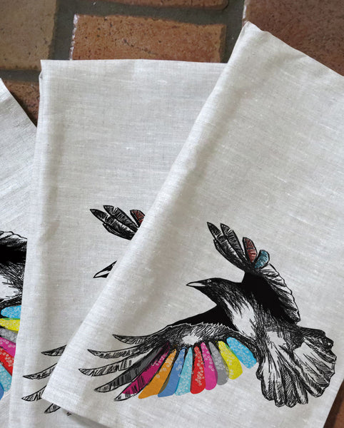 The Crow's WIng Tea Towels
