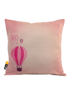Bubble Gum Balloon Throw Pillow