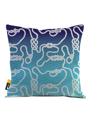 Dread Knot Throw Pillow