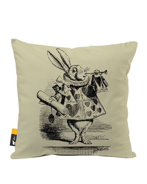 White Rabbit Luxe Suede Throw Pillow