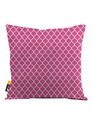 Coral Moroccan Throw Pillow