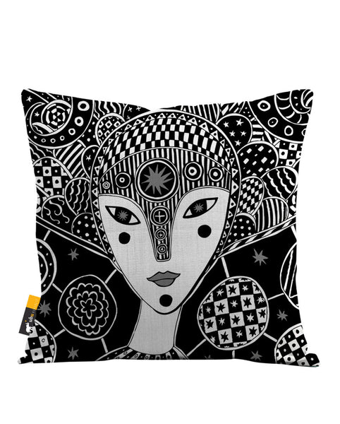 Mokosha Throw Pillow